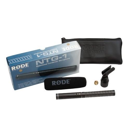 Micrófono condensador shotgun