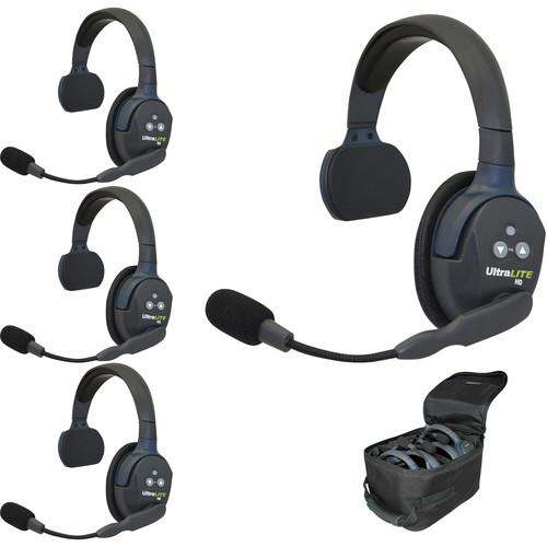 Sistema de auriculares Eartec UL4S UltraLITE