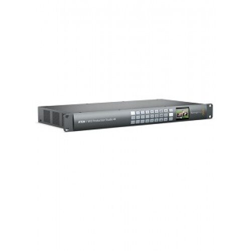 Conmutador de Producción en Vivo TEM 1 M/E 4K BMD